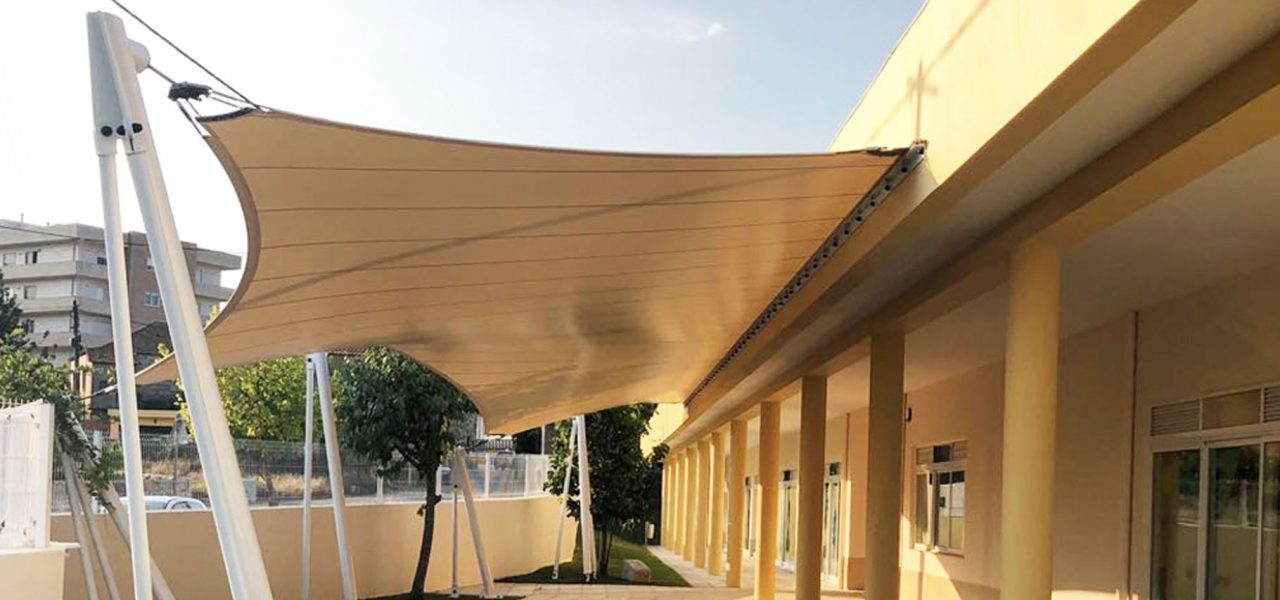 Arquitectura Têxtil estruturas Tensionadas Toldos Stands PVC Eugreb