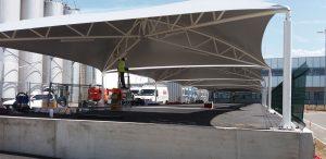 Architecture Textile Evian PVC Parking